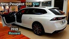 New Peugeot 508 Sw Estate Gt Line 2019 Review Interior