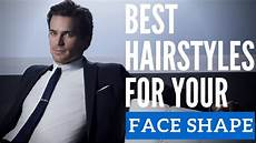 best hairstyle for your face shape picking a new men s hairstyle youtube