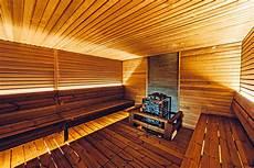 Cosy Sauna For A Sports Centre Harvia