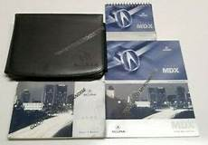 car repair manuals online free 2005 acura mdx security system 2005 acura mdx owners manual user guide sh awd base sport utility v6 3 5l set ebay