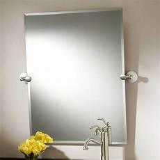 Framed Bathroom Mirrors Brushed Nickel