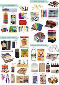 must have art supplies hellobee art supplies craft