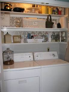 Laundry Room Shelving Ideas