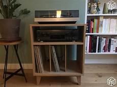 Meuble Rangement Vinyles Li Platine Vinyl Meuble