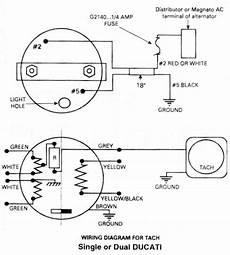 Ducati Ignition Ducati Ignition Tachometer Wiring Diagram
