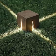 illuminazione da giardino design granito floor l h 30 cm outdoor h 30 cm wood