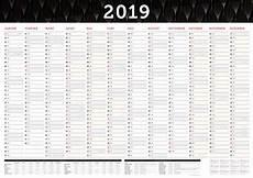 Wandkalender 2018 Groß - gro 223 er wandkalender 2019 in din a1 84 x 59 4 cm gefalzt