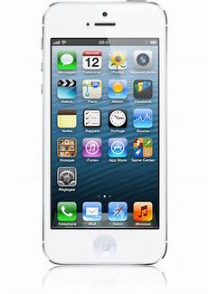 ecran d iphone 5 apple iphone 5 16go blanc argent 233 occasion ios6 201 cran