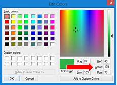 how to find your custom color codes with paint depict data studio