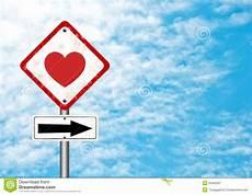 panneau amour panneau routier avec amour photographie stock libre de