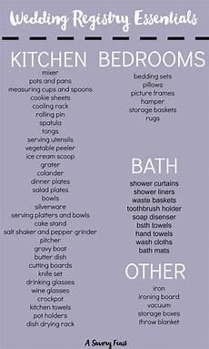 Wedding Shower Registry Ideas