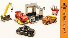 Lego Cars Smokeys Garage by Lego Juniors Cars 3 Smokey S Garage Stop Motion Build
