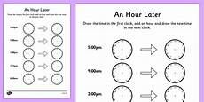 time duration worksheets grade 2 3517 an hour later worksheet made