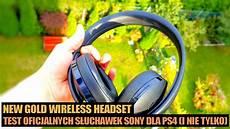Headset Test 2018 - sony new gold wireless headset recenzja test