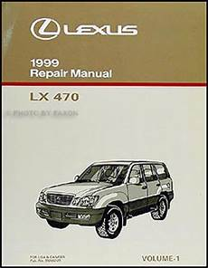 motor auto repair manual 1999 lexus lx auto manual 1999 lexus lx 470 diagnosis repair manual vol 1 lx470 ebay