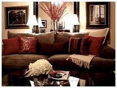 Home Decor Ideas With Brown Couches by Burgandy And Home Decor Images 1000 Ideas About
