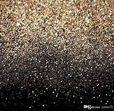 3x5ft Vinyl Golden Glitters Photography Background by 2019 5x7ft Vinyl Glitter Black Gold Dots Photography