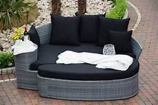 polyrattan lounge grau sonneninsel polyrattan rattan wt 6002 lounge wellness grau