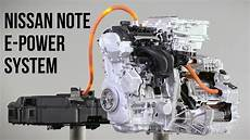 Nissan Note E Power System