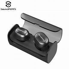 Bluetooth Invisible Wireless Earphone Hifi Stereo soundpeats tws bluetooth wireless earbuds mini invisible