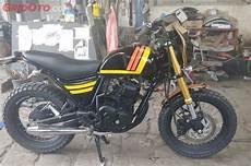 Biaya Modifikasi Scorpio Scrambler by Jangan Heran Sama Biaya Modif Yamaha Scorpio Jadi Ducati