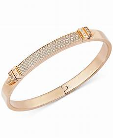 swarovski armband gold lyst swarovski gold tone buckle bangle