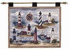 blanket tapestry throws lighthouse wall hangings usalights com lighthouse home decor our