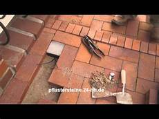pflastersteine selber gießen pflastern vorbereiten der unterbau die tragschicht und