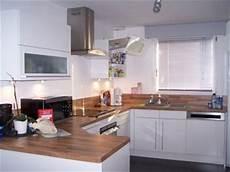 cuisine bois blanc idee deco cuisine bois