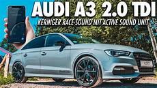 audi a3 2 0 tdi 8v soundmodul active sound unit sound