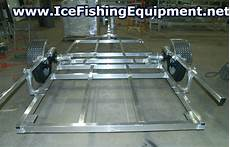 permanent ice fishing house plans cheapmieledishwashers 18 awesome drop down ice house