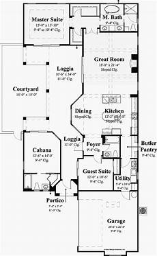 courtyard mediterranean house plans luxury home awesome