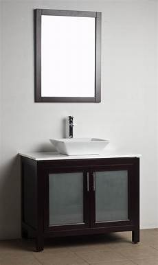 Bathroom Vanity Solid Wood Espresso Wh 0908 5
