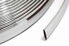 chrom leisten zierleisten 8m x 21mm flexibel 1m 1 37