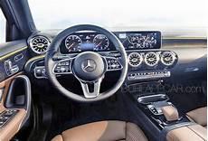 Burlappcar All New 2018 19 Mercedes A Class Interior