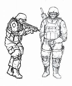 Ausmalbilder Polizei Swat Dessin De S W A T