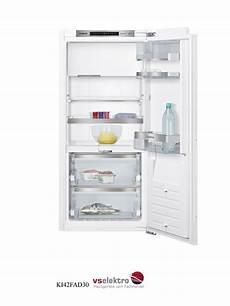 kühlschrank mit gefrierfach siemens siemens einbau k 252 hlschrank ki42fad30 mit vitafresh und