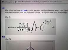 statisktik p wert berechnen mit formel mathe