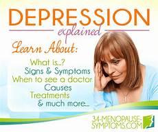 Depressionen Symptome Frau - causes of depression 34 menopause symptoms