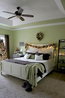 a christmas bedroom