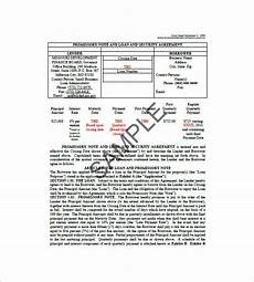 10 general promissory note templates free sle exle format download free premium