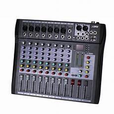 Professional 8 Channels Electric Audio Mixer Dj