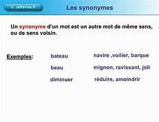 les synonymes ou mots de m 234 me sens le 231 on de vocabulaire