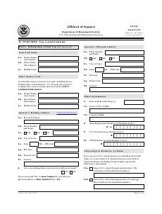 uscis form i 134 download fillable pdf affidavit of support templateroller