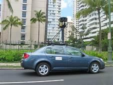 Google Street View Car In Honolulujpg  Wikimedia