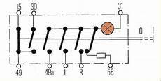 schaltplan hella warnblinkschalter wiring diagram