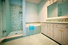 Aqua Bathroom Decor Ideas by 22 Floral Bathroom Designs Decorating Ideas Design