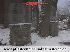 gabionen aus polen firma b m granity frostbest 228 ndige natursteine schiefer aus polen f 252 r gabionen tank