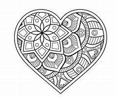 Malvorlagen Herz Challenge Mandala Herz Mandala Malvorlagen Mandala Malvorlagen