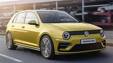 new 2019 volkswagen r new concept 2020 vw golf rendered with retro cues from mk ii generation